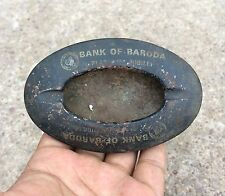 VINTAGE BANK OF BARODA MARKED UNIQUE ASH TRAY