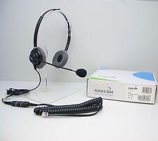 ADD330-01 Headset for Avaya Toshiba Polycom Nortel Mitel NEC Aspire Hybrex Ascom