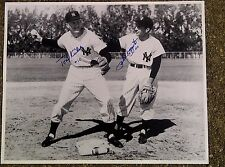 PHIL RIZZUTO TONY KUBEK NEW YORK YANKEES SHORTSTOPS SIGNED 16x20 PHOTO NUMBER 10