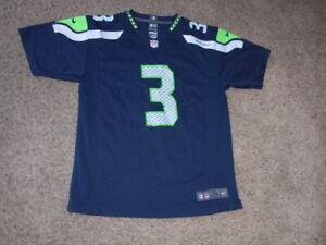 Seattle Seahawks RUSSELL WILSON Nike On Field Football Jersey youth XL