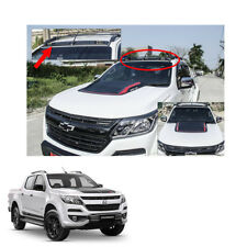 New Chevrolet Holden Colorado 17 + LED Front Roof Spoiler Cover Matte Black 1 Pc