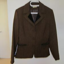 Review jacket and matching dress suit EXC CONDITION AS NEW Size 10