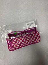 Vera Bradley Eyeglass Reading Glasses Readers + Case Julep Tulip Laurie +2.00