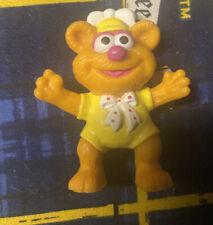"Vintage Fozzie Bear Muppet Babies 1986 Pvc Figure 2"" Sesame Street McDonald's?"