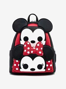 Loungefly Disney Mickey and Minnie FUNKO POP! Cosplay Mini Backpack - NWT