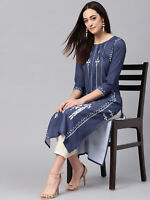 Indian Kurta Women Kurti Tunic Top Pakistani Ethnic Kameez Dress Shirt S - 4XL