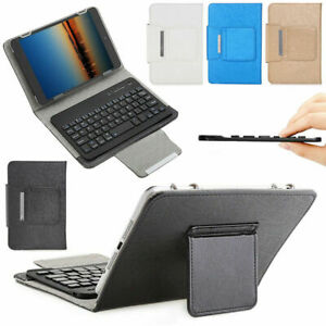 """Wireless Keyboard Leather Case Tablet Cover Stand For Apple iPad Pro Air 7""""10"""""""
