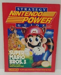 Super Mario Bros. 3 Nintendo Power strategy guide official Nintendo guide Rare