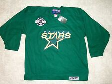 NHL Dallas Stars CCM Jersey All Sewn 100% NHL AUTH. Free Shipping !!!  ( XL )