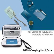 LTGEM EVA Case for Samsung T5/T3/T1 Portable 250GB 500GB 1TB 2TB SSD USB 3.0
