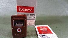 Polaroid Pr-23B Exposure Light Meter for Polaroid Land camera in Oem box. Works!