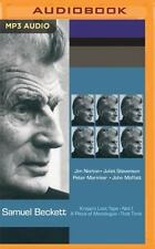 Krapp's Last Tape, Not I, That Time, and a Piece of Monologue (Naxos) by...