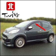 Deflettori Antiturbo Oscurati Peugeot 107 5 porte 5p 2005-2014