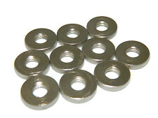 """10 pack  3/8"""" Knurled Nut 16 Thread Photo Light Stand 5796A-10"""
