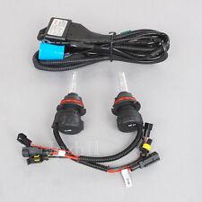 HID Headlight Light Bi-Xenon 9007-3 12000K Hi/Lo 35W Bulbs + Relay Wire Harness