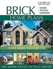 Brick Home Plans Creative Homeowner Stone Stucco Masonry Materials Maintenance