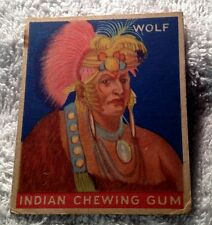 Goudey Indian Chewing Gum – # 134 Wolf #2 of 5
