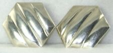 VTG MEXICAN STERLING LOS BALLESTEROS EARRINGS 1980'S