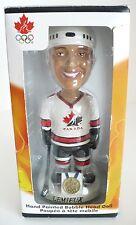 NHLPA Canada Olympic Hockey Lemieux Bobble Head Doll. Hand Painted. New in Box