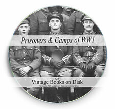 Rare Prisoner of World War 1 Books on DVD WW1  POW Maps Posters Battles Camp 24