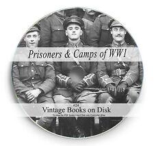 Rare Prisoner of World War 1 Books on DVD WW1  POW Maps Posters Battles Camp 24