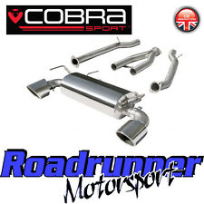 Cobra Exhaust System Fits 370Z Inc Centre Section & Rear Silencer Stainless NZ15