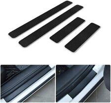 For RAM Car Door Sill Scuff Guard Carbon Fiber red Sticker Auto 4pcs