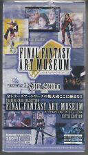 Final Fantasy Art Museum Trading Card Fifth Edition Sealed Box 2003 Japanese