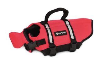 ZippyPaws Size XLarge - Adventure Life Jacket for Dogs - Red Life Jacket