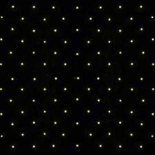 200 Warm White LED Solar GOLD Fairy String Net Flashing Outdoor Christmas Lights