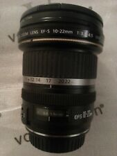 Objectif Canon EF-S 10-22mm 1:3,5-4,5 USM