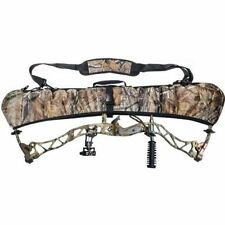 Camo Bow Bag Shoulder Strap Bow Cam Cover Pouch for Compound Bow Outdoor Hunting