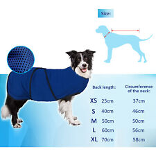 Cooling Vest Dogs Harness Cooling Coat Cooler Puppies Pet Adjustable Size