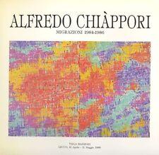 CHIAPPORI Alfredo, Alfredo Chiappori. Migrazioni 1948-1986