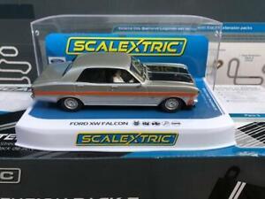 Scalextric C4037 Australian Ford XW GT-HO Falcon - Silver Fox - 1:32 Scale
