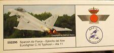 Herpa 1:200  -  Spanish Air Force Eurofighter C-16 Typhoon Ala 11  -     552295