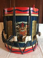 Vintage Rope Tension Marching Snare Drum 12x14 IN DEFENS NEMO-ME-IMPUNE-LACESSIT