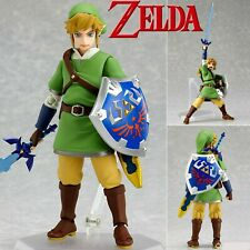 FIGURA LINK THE LEGEND OF ZELDA - SKYWARD SWORD ACTION FIGURE 14cm FIGMA #153.