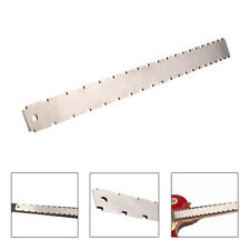 Double Scale Guitar Neck Notched Straight Edge Fret Rocker Luthier Tools Edge