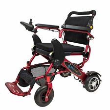 The Geo Cruiser DX Lightweight Foldable Power Chair (Red) with FREE ACCESSORIES