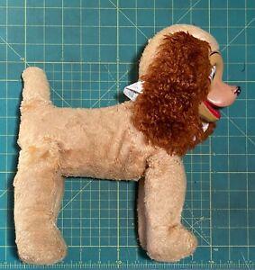 Vintage Gund Swedlin LADY Rubber Face Plush Stuffed Animal Walt Disney