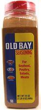 Old Bay Seafood Seasoning 24 oz (1 LB 8 OZ) 680g Crabs Spiced Shrimp
