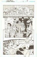 Wonder Woman #5 p.20 - Centaur & Wonder Woman Choked by Octopus 2012 Tony Akins