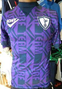 Tottenham Hotspur Retro 1995-96 Pony Away Kit Medium Mens/Large Boys