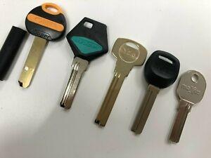 Key blanks to suit high security dimple locks Yale, ABS, Avocet, Maxus ,Hooply