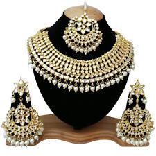 Traditional Indian Bridal Wedding Meena Kundan Designer Choker Necklace Jewelry