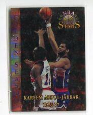 1996 Topps Stars Finest Refractors Basketball Card #51 Kareem Abdul-Jabbar