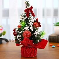 2018 Desk Table Top Mini Christmas Xmas Tree Small Party Ornaments Decor Art