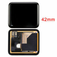 DISPLAY+ TOUCH SCREEN SMARTWATCH APPLE WATCH SERIE 1 A1554 A1803 42MM VETRO NERO