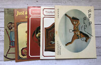 Vintage Lot of 5 Decorating Paining Tole Books 1970's Housewife